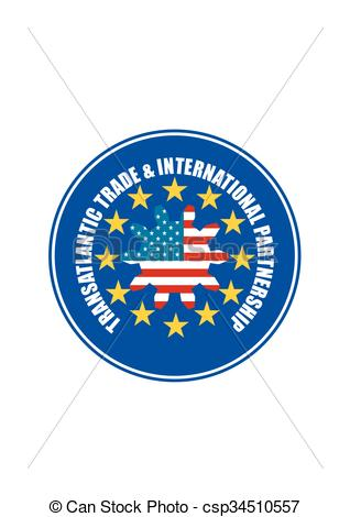 Clipart Vector of TTIP.
