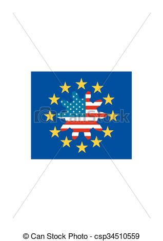 Clipart Vector of TTIP.