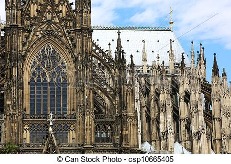 Stock Photography of Cologne Cathedral.