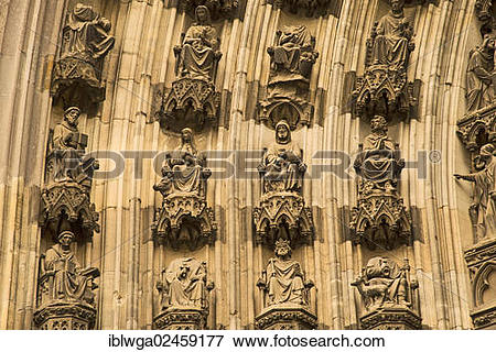 """Picture of """"Michaelsportal church porch, facade of the northern."""