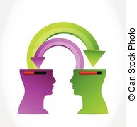 Knowledge transfer Vector Clipart Royalty Free. 111 Knowledge.