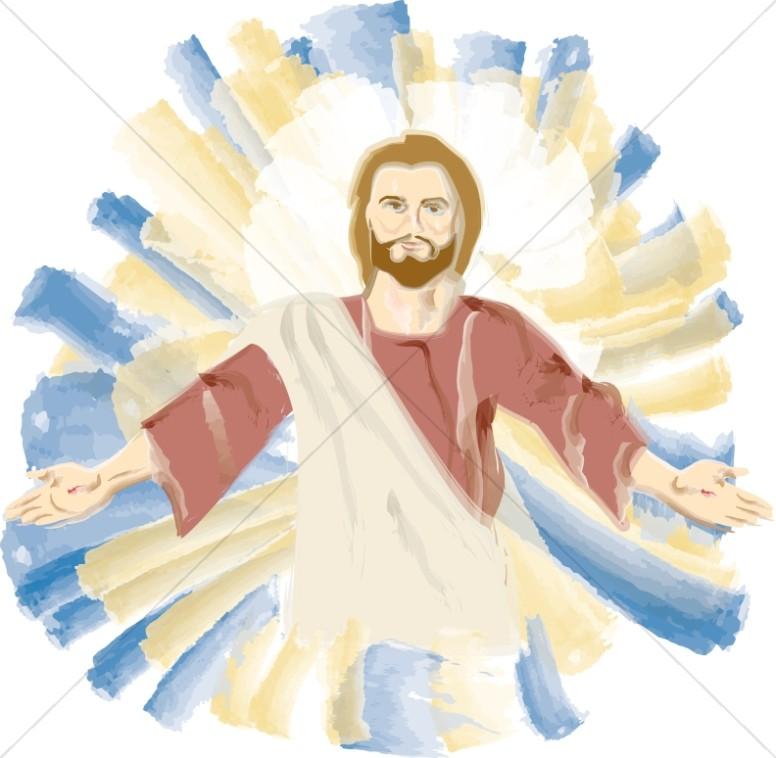 Transfiguration of Jesus Portrait.