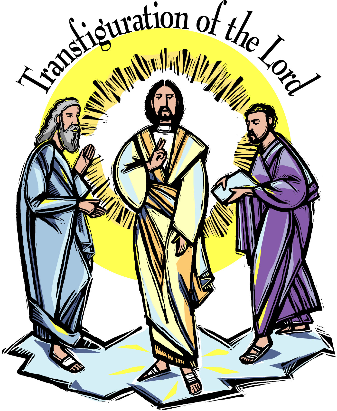 Transfiguration clipart 9 » Clipart Station.