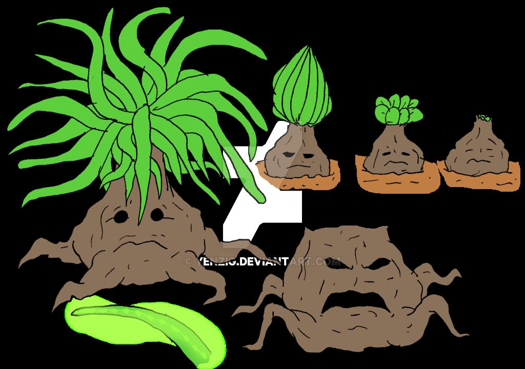 Transfixed Leafy Sponge by Yenzig on DeviantArt.