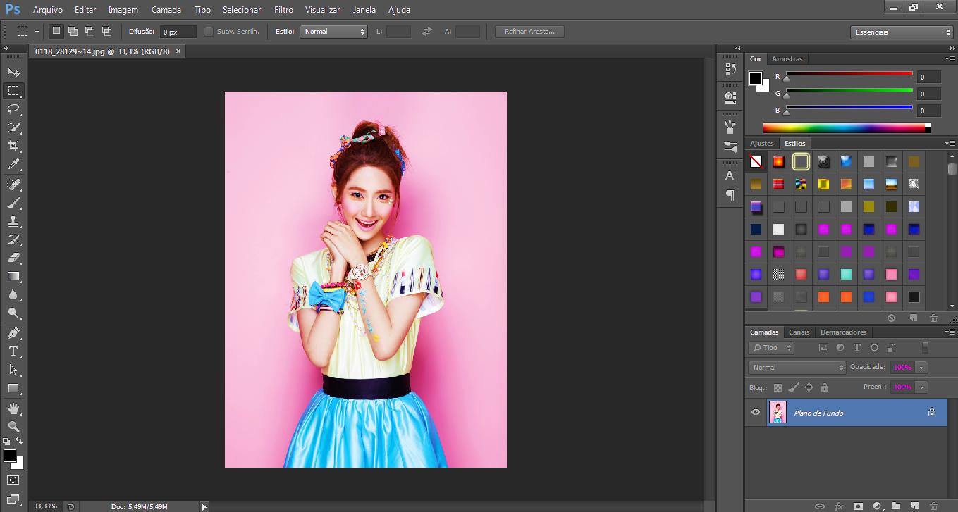 Como fazer um PNG \'\'perfeito\'\' usando o PhotoShop CS6.