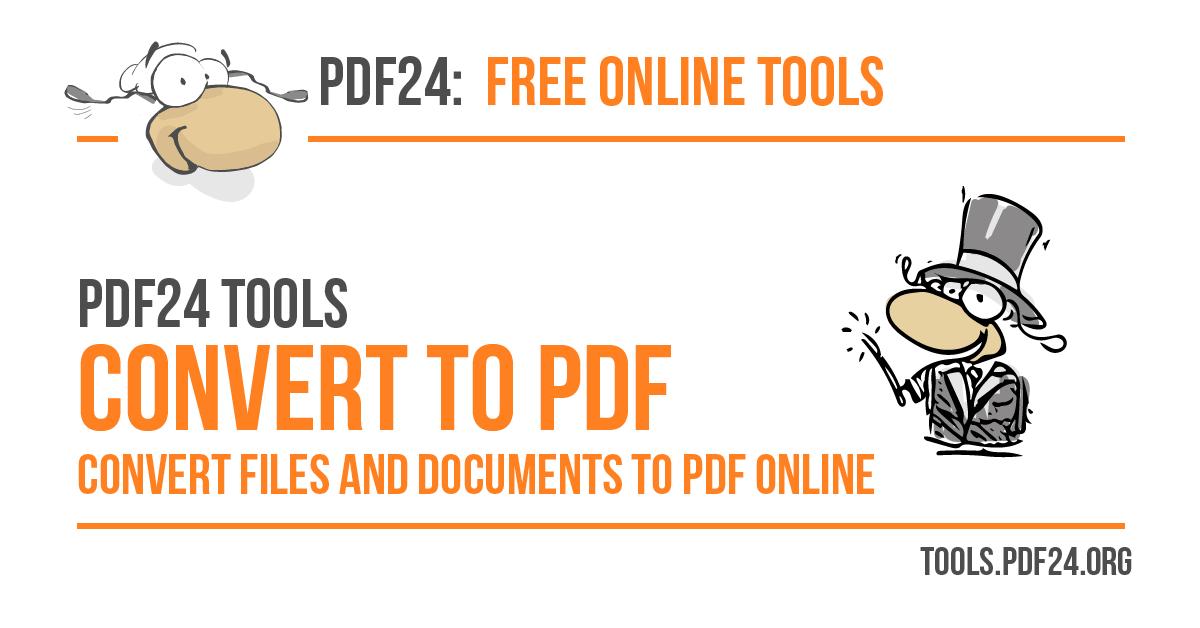 Convert to PDF.