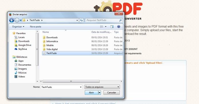 Transformar em pdf.