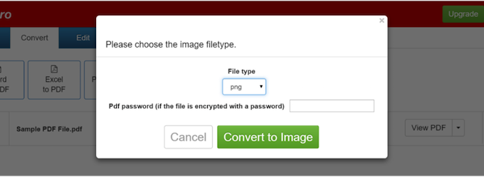 How to Convert PDF to PNG.