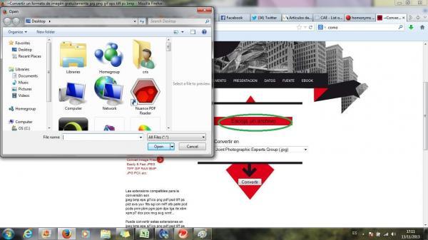 Como converter um arquivo png para jpg.