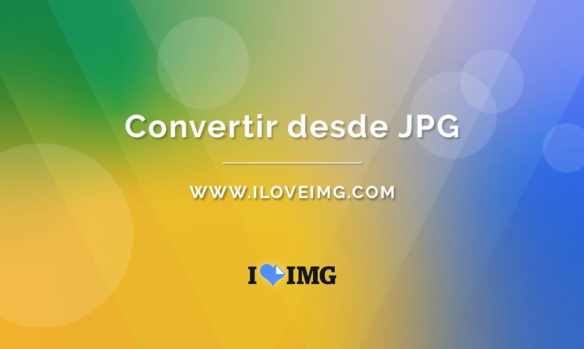 Convertir JPG a PNG online.