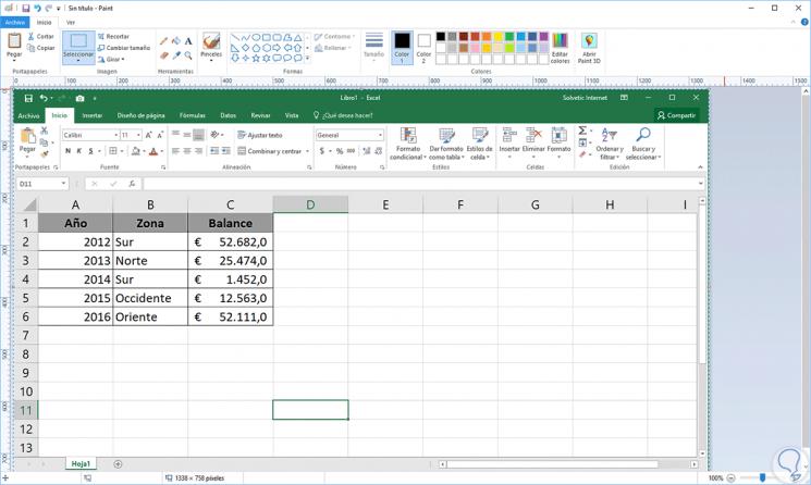 Cómo convertir Excel a imagen JPG, PNG O GIF.