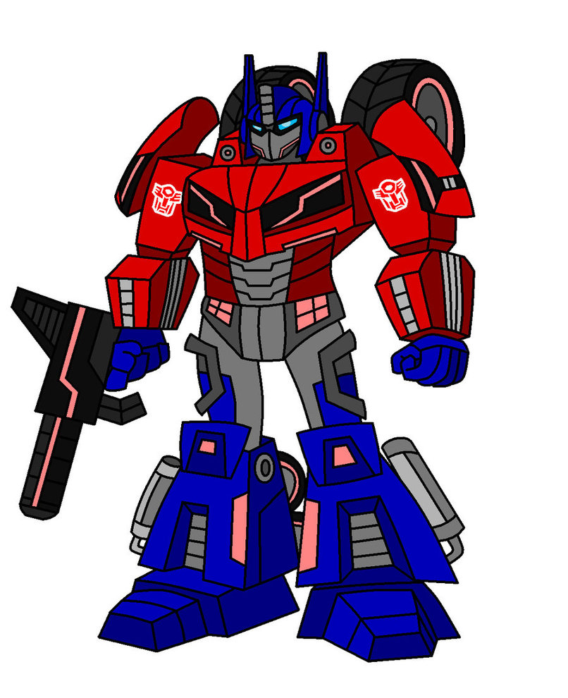 Animated transformer clip art.