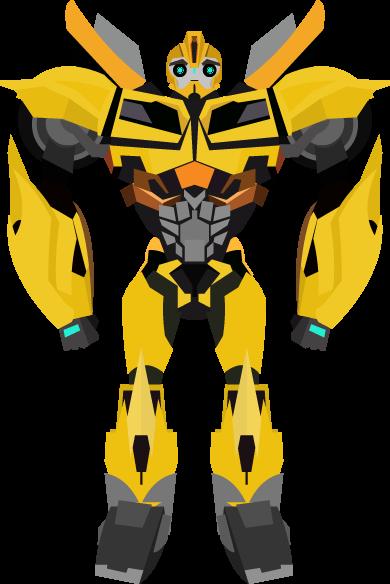 Bumblebee transformer clip art.