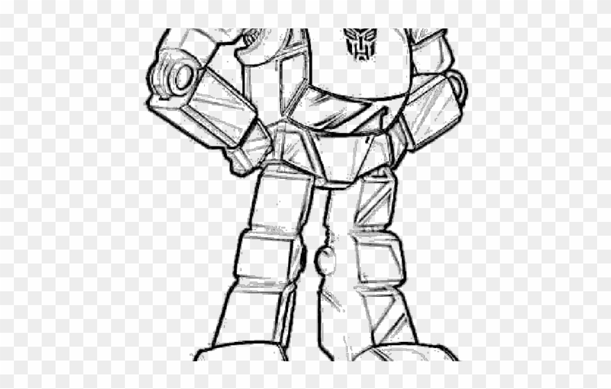 Transformers Clipart Black And White.