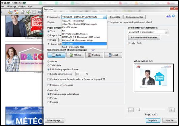 Comment convertir un PDF en fichier image : jpeg, gif, png ?.