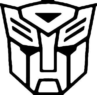 Transformers symbol clipart.
