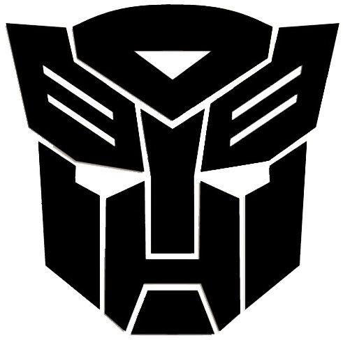 Transformers Autobots Symbol vinyl.