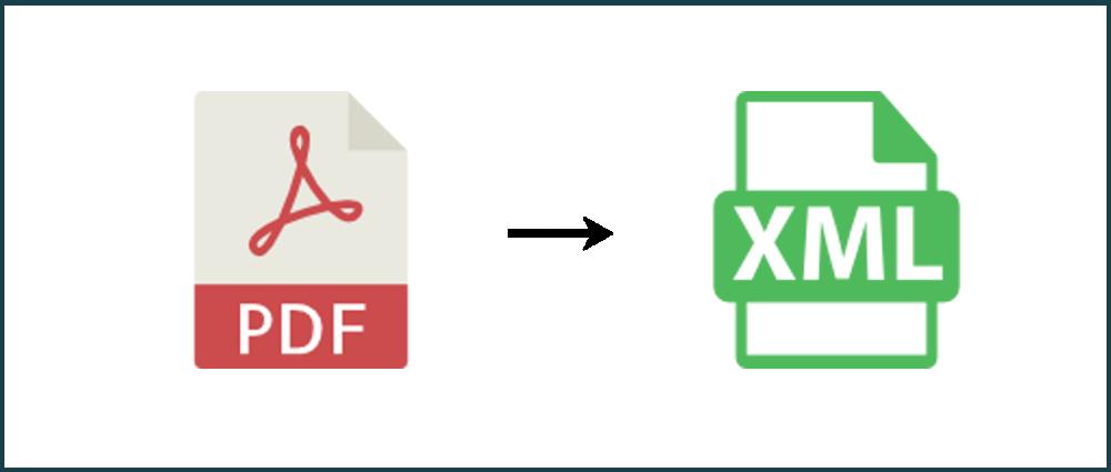 Convert PDF to XML Online.