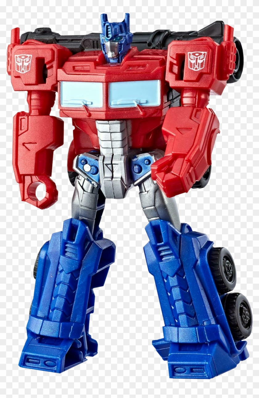 "Ion Burst Optimus Prime 4"" Action Figure."