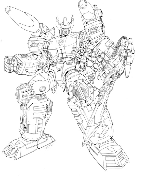 Transformers Armada Coloring Pages.