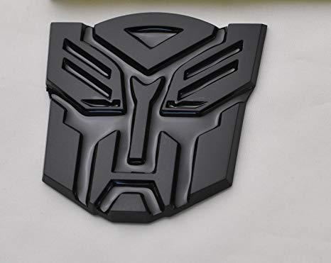 Amazon.com: Transformers Autobot Car Black Badge Emblem 3D.