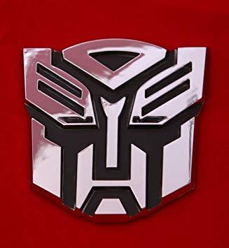 Amazon.com: Transformers Autobot Car Chrome Badge Emblem 3d.