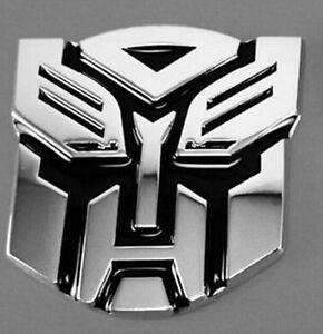Details about 3D Logo Protector Autobot Transformers Emblem Badge Graphics  Car Sticker Decal.