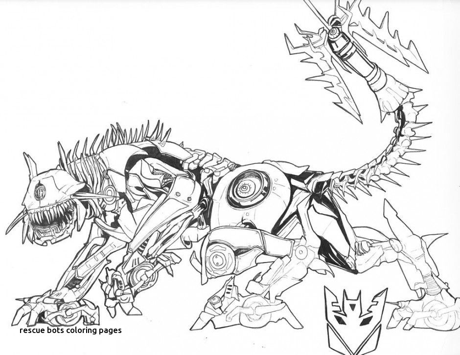 Transformers Coloring Pages Shockwave.