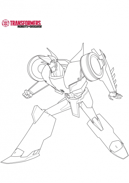 Transformers Sideswipe Coloring Pages.
