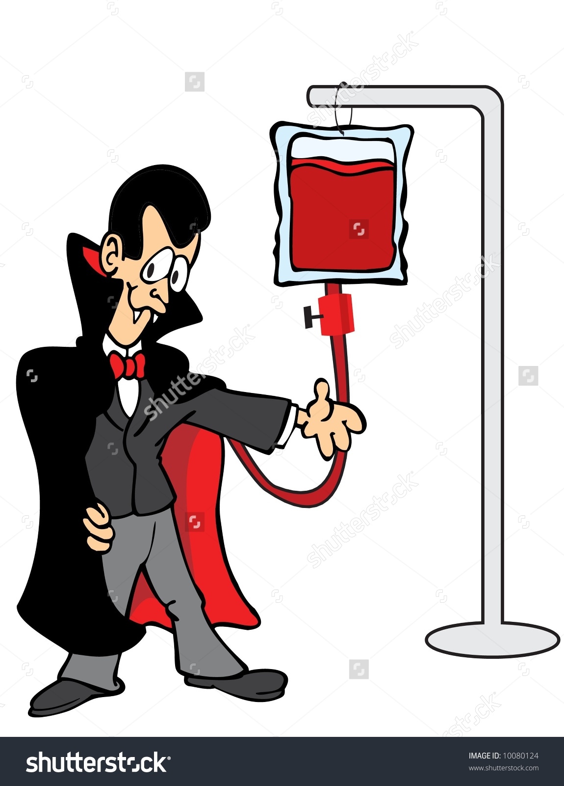 Clip Art Blood Transfusion.