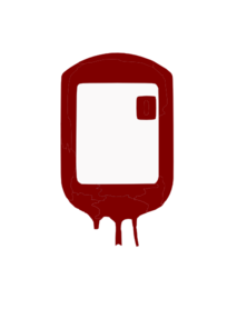 Blood Transfusion Bag Flat Style Clip Art at Clker.com.