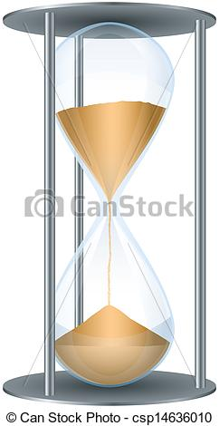 Clipart of Hourglass.