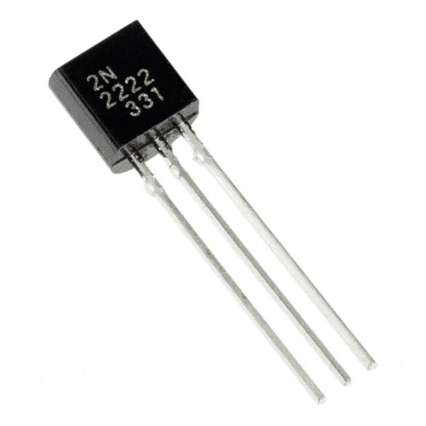 2N2222 NPN Amplifier Transistor.