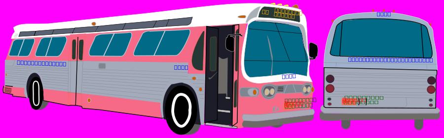 Transit Bus Clipart, vector clip art online, royalty free design.
