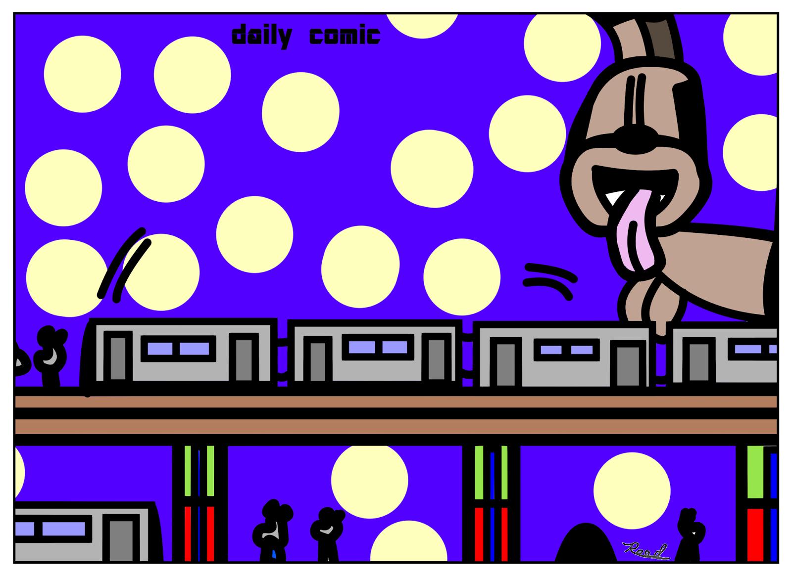 Daily Comic: MTA.