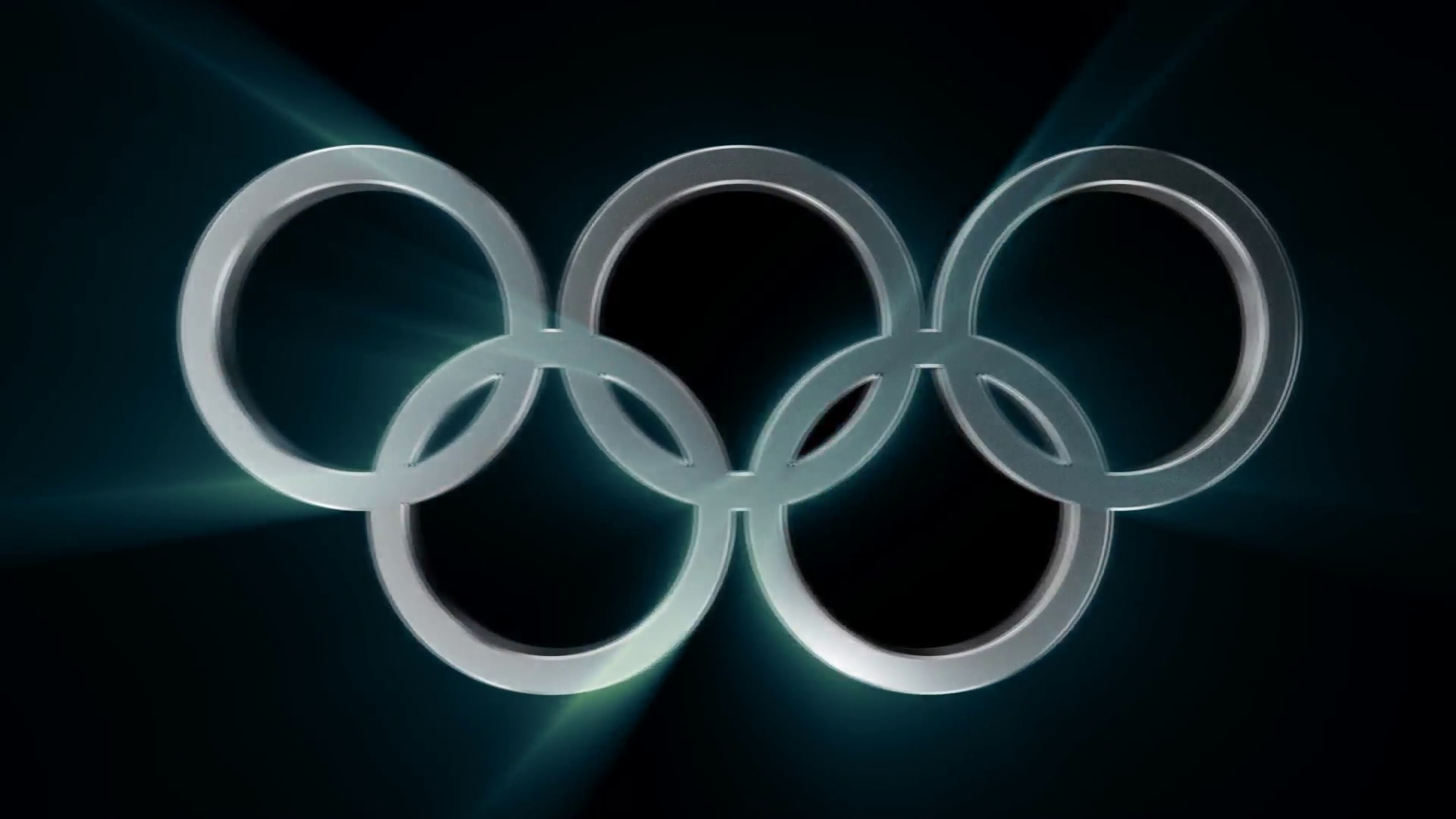 Olympic Rings Transition / PNG+Alpha Chanel Motion Background.
