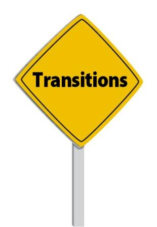 Monday Money: Transition words.