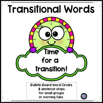 Transitional Words: Time to Use a Transition.