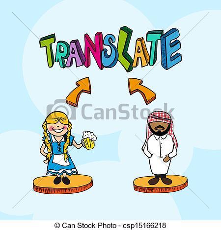 Translate clipart.