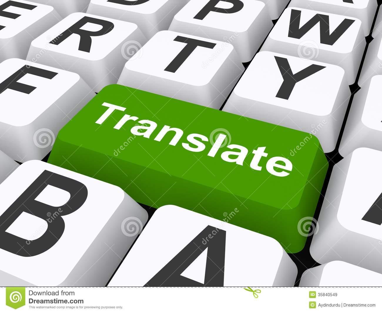 Translation clipart.