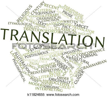 Stock Illustration of Translation k11824655.
