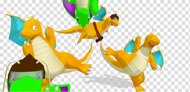 MMD OldComer Dragonite Rerig +Dl, Pokemon dragon characters.