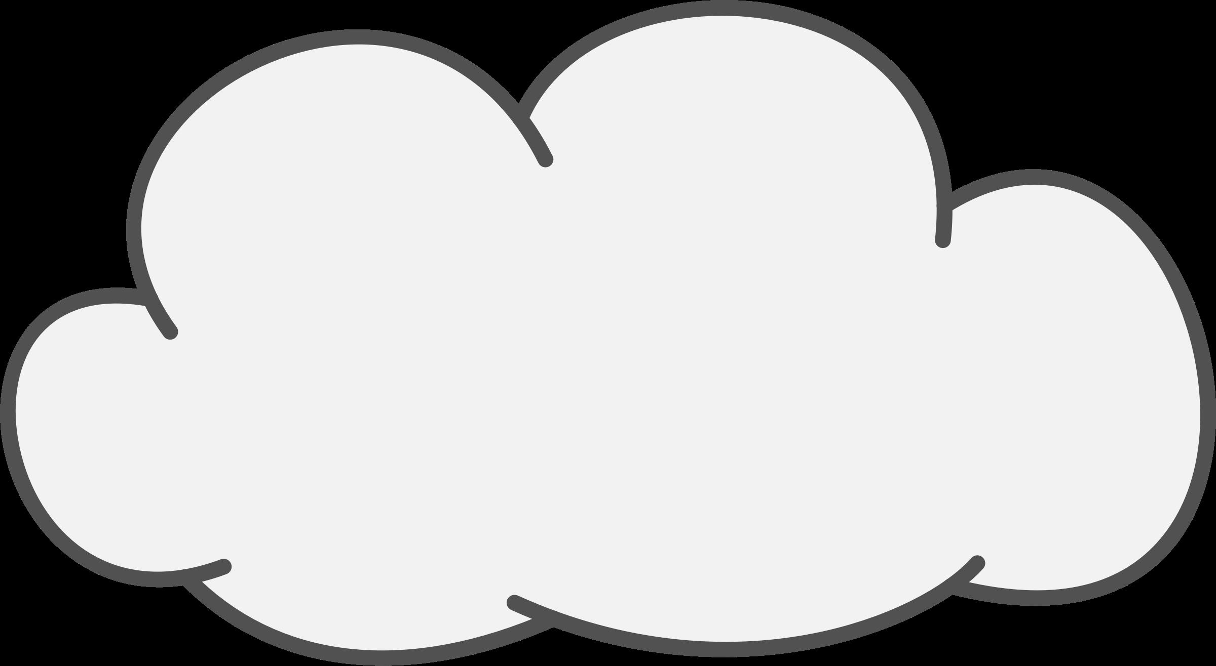 Clouds clipart transparent background.