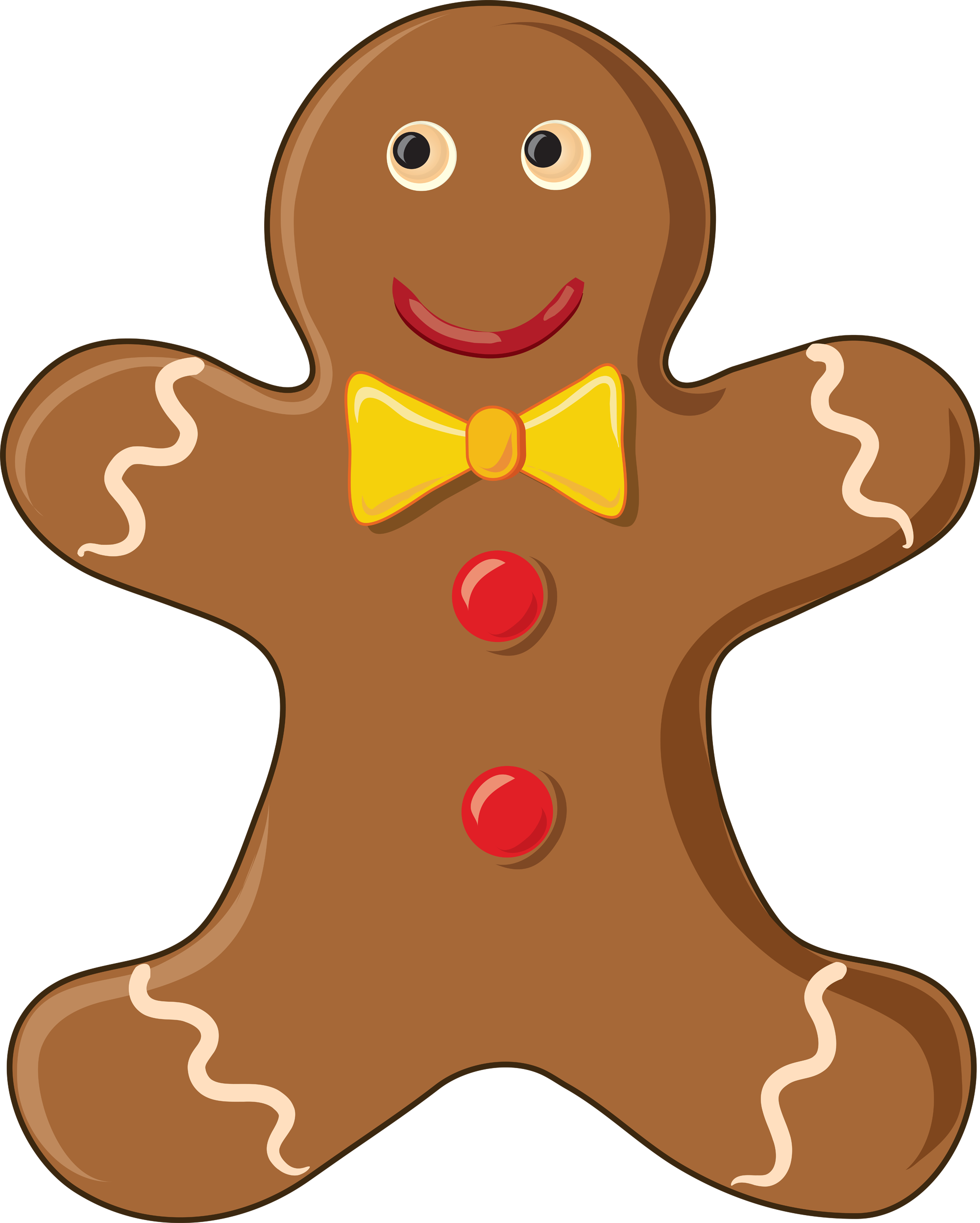 Gingerbread man Free content Biscuits Clip art.