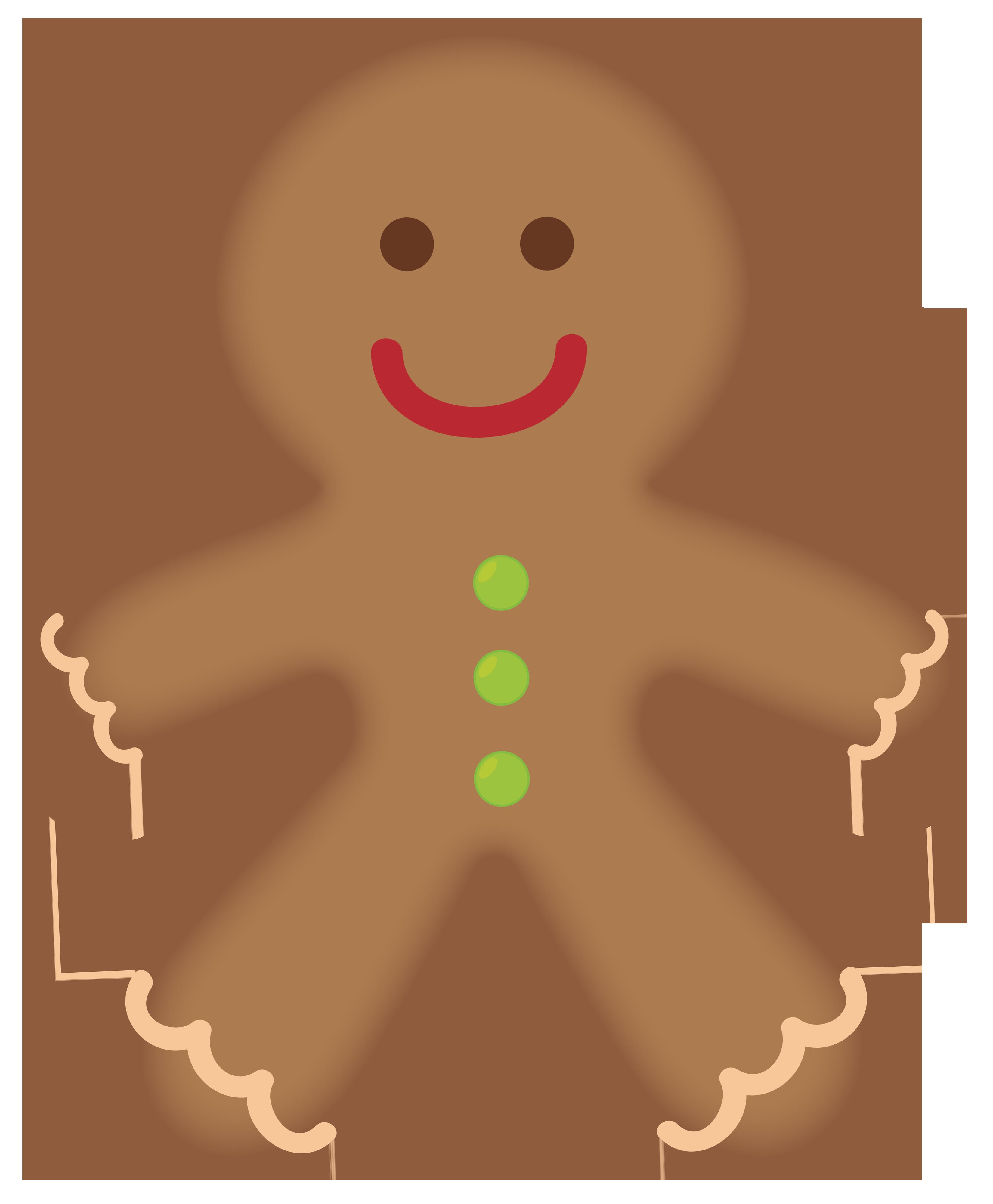 The Gingerbread Man Gingerbread house Clip art.