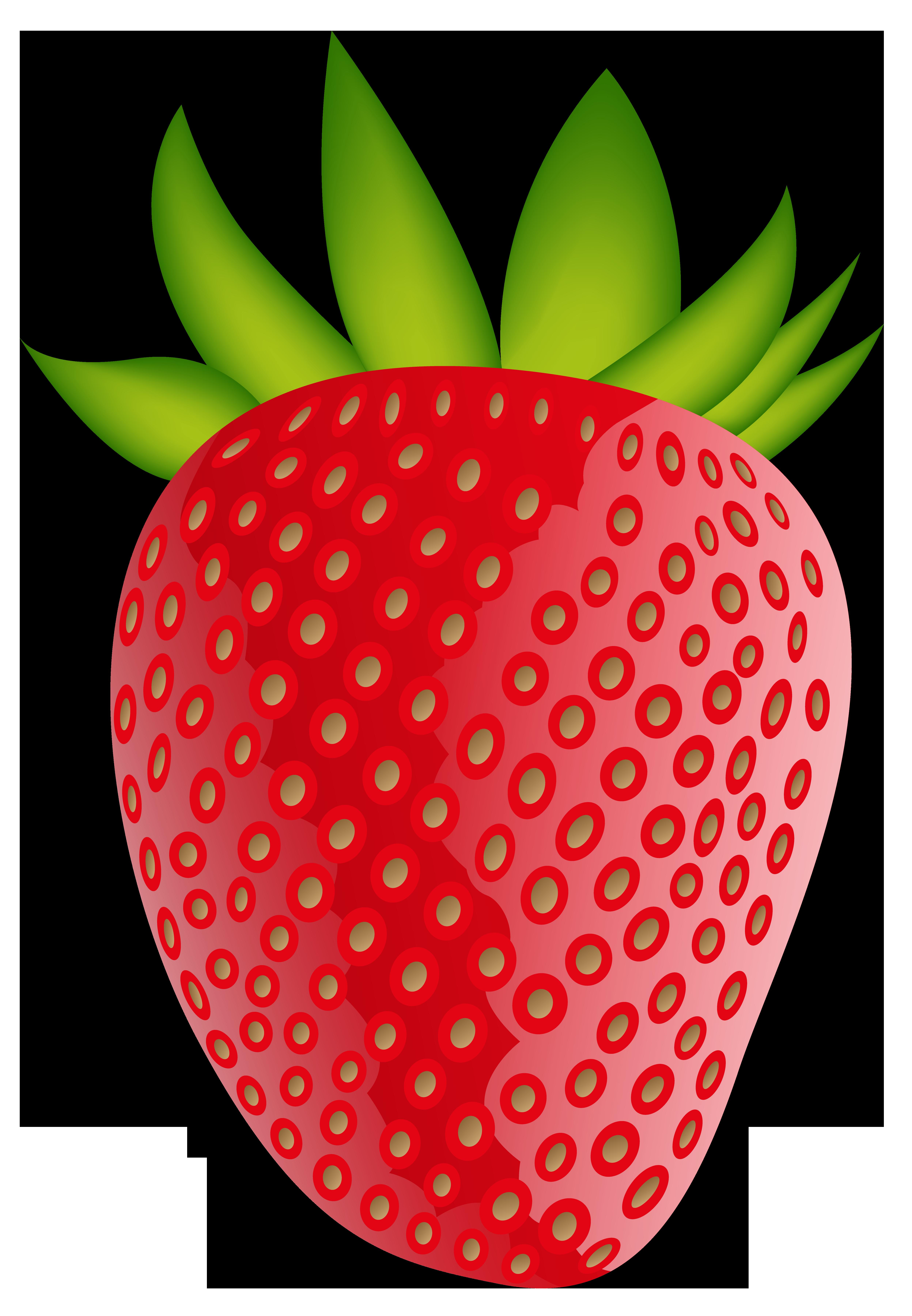 Strawberry clipart 5.