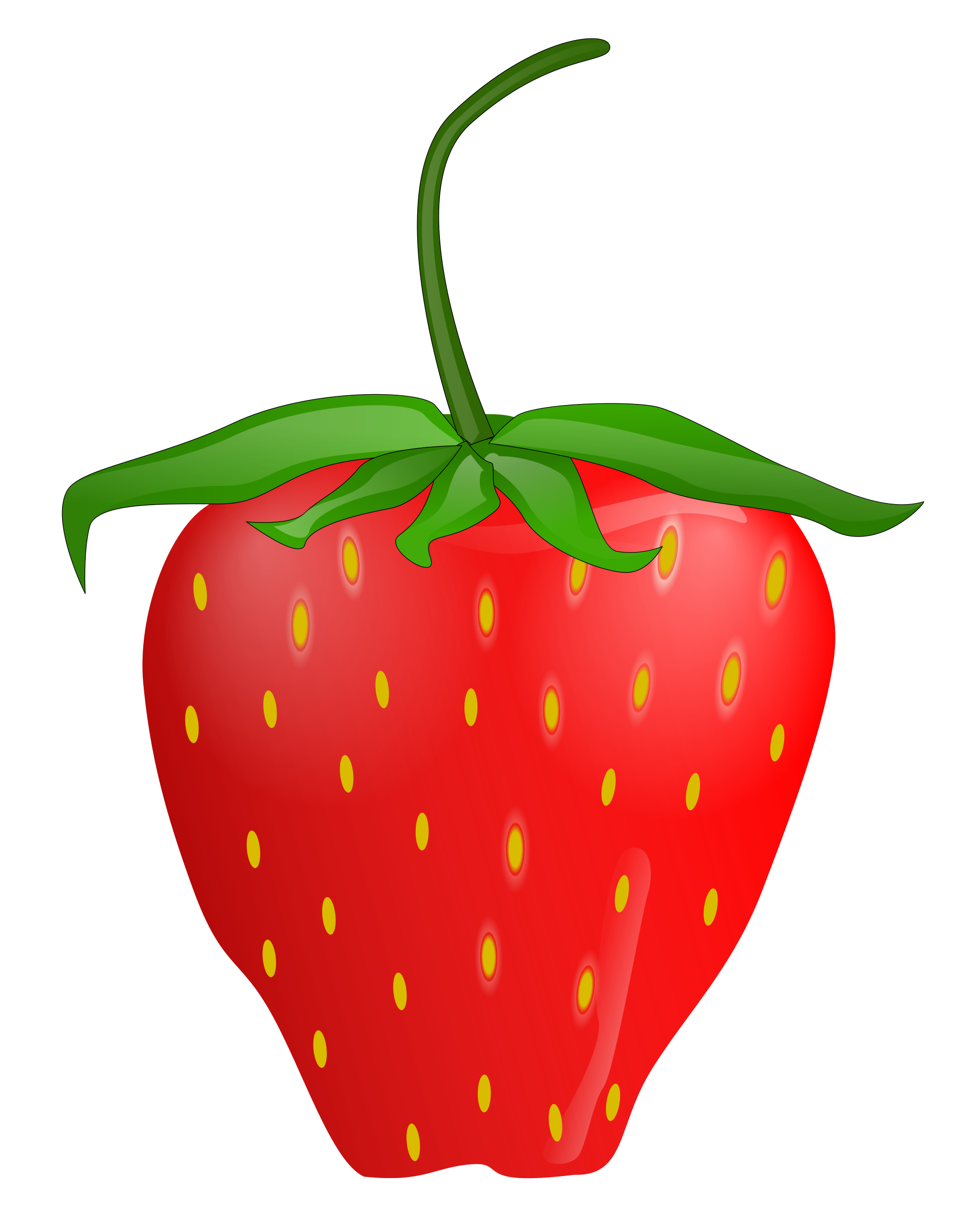 Yummy Strawberry Clipart Clip art of Strawberry Clipart #2026.