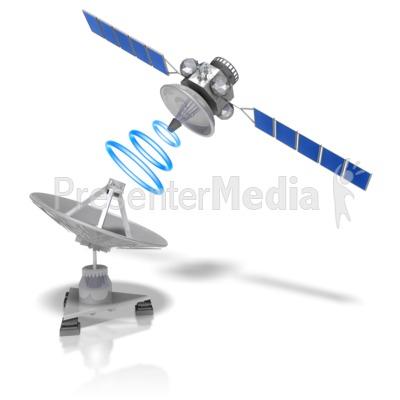 Satellite Dish Transmit.