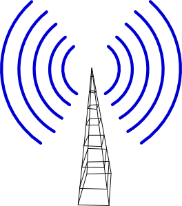 Television Antenna clip art Free Vector / 4Vector.