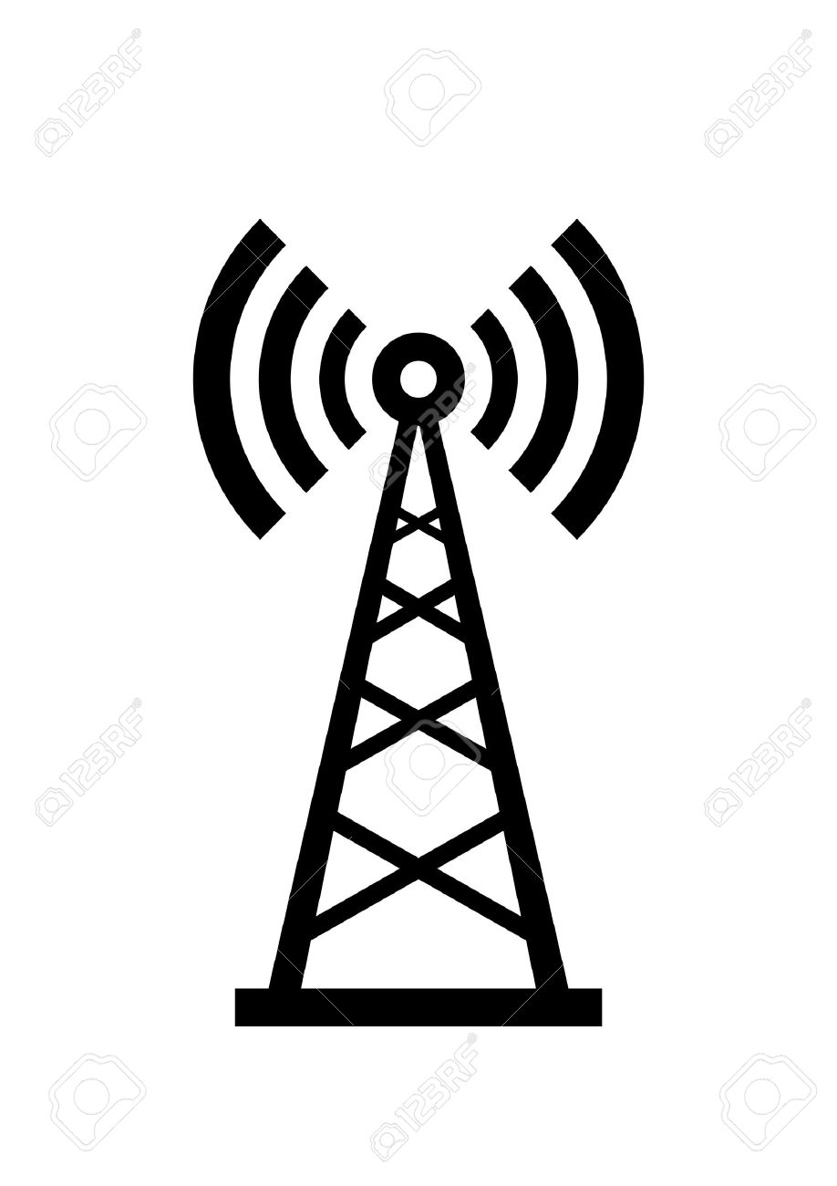 telecommunications masts clipart